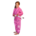 кимоно для детей Fuji All Around Kids BJJ Gi Pink #7006