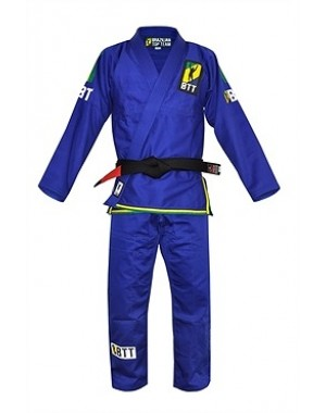 Кимоно для БЖЖ Brazilian Top Team BJJ Gi Blue #8502