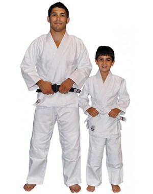 Кимоно для детей Fuji Sports Single Weave Judo Gi White for children
