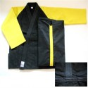 Fuji Sports Double Weave Judo Gi Gold & Black (FY)