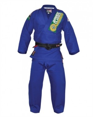Ги для Джиу Джитсу Isami Sachiko BJJ Blue Double Weave With or Without Patches