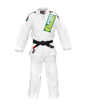 Кимоно для Джиу Джитсу Isami Sachiko BJJ White Double Weave With or Without Patches