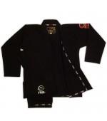 Fuji Summerweight BJJ Gi Black #8003