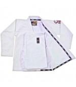 Fuji Summerweight BJJ Gi White #8000