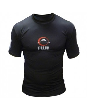 Рашгард Fuji Sports Kassen Short Sleeve Rash Guard Black