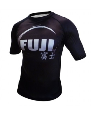 Рашгард Fuji Sports IBJJF Ranked Rash Guard Black Short Sleeve