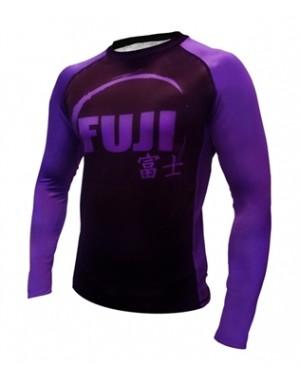 Рашгард Fuji Sports IBJJF Ranked Rash Guard Purple Long Sleeve