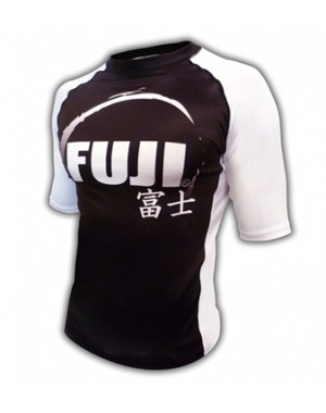 Рашгард Fuji Sports IBJJF Ranked Rash Guard White Short Sleeve