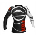 Fuji Sports Freestyle IBJJF Ranked Rashguard Black Long Sleeve #4478