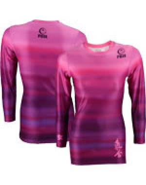 Женский рашгард Fuji Sports Haiku Women's Rash Guard - Pink #2406