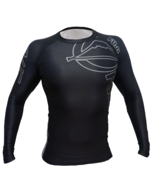 рашгард FUJI Inverted Long Sleeve Rashguard, Black, #1500