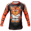 рашгард FUJI Sports Toshi the Tiger Long Sleeve Rashguard, #4405