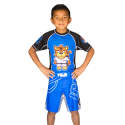 детские шорты для ММА FUJI Inverted Kid's Board Shorts, Blue, #2030Y