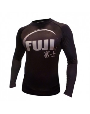 Рашгард Fuji Sports IBJJF Ranked Rash Guard Black Long Sleeve