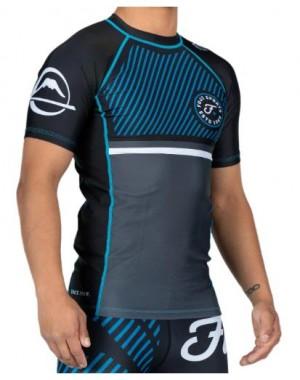 Рашгард Fuji Sports Script Short Sleeve Rashguard Blue