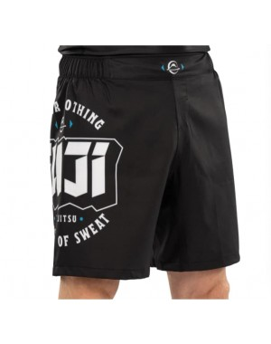 Шорти для Джиу джитсу та ММА FUJI Bam Bam Grappling Black Fight Shorts