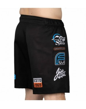 шорти Fuji XTR Extreme Grappling Fight Shorts Black