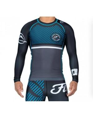 Рашгард Fuji Sports Script Long Sleeve Rashguard Blue