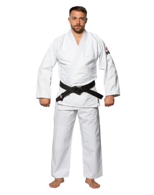 Кимоно Fuji Sports Single Weave Judo Gi White