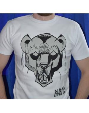 Футболка RURIK fight wear white bear