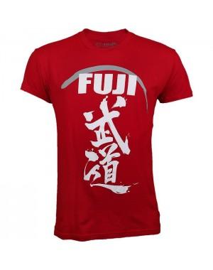 футболка Fuji Sports Budo T-Shirt Red