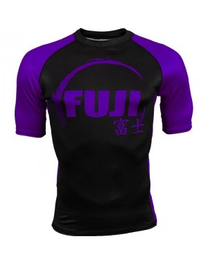 Рашгард Fuji Sports IBJJF Ranked Rash Guard Purple Short Sleeve